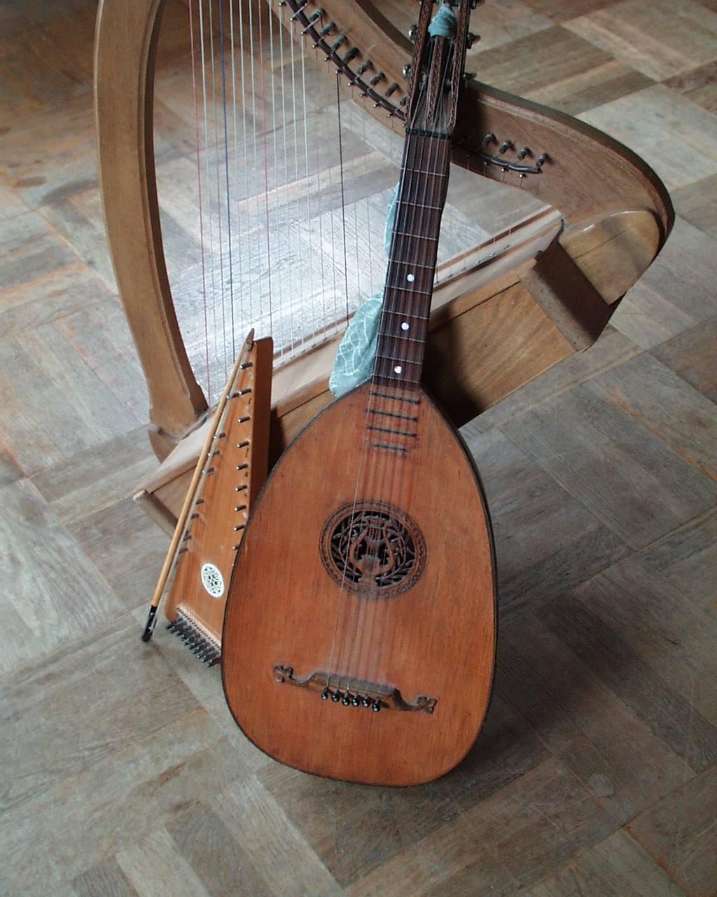 Mittelalterliche Instrumente